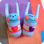 Bunny Smiley soft toy: vari..